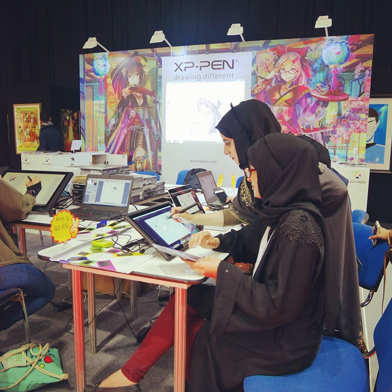 XP-Pen на Middle East Filml&Comic Con (MEFCC)