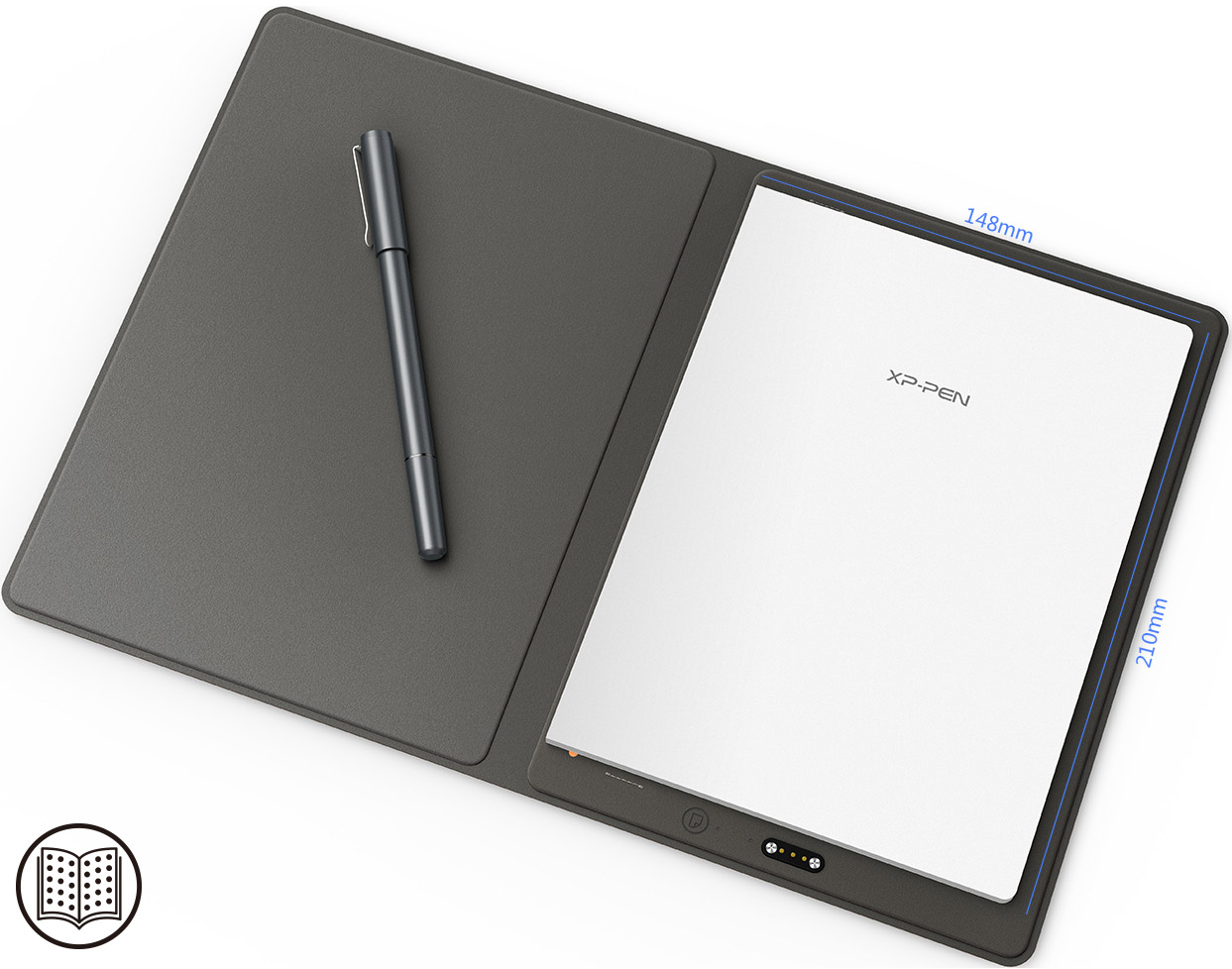 Easy to use record and create with XP-Pen Note Plus Smart notepad